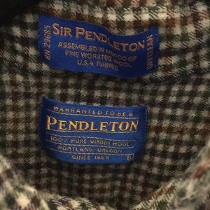 Pendetlon long sleeve flannel Winter shirt